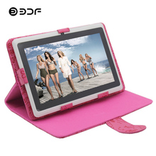 BDF 7 Inch Tablet Pc Android 4.4 Quad Core 512MB+8GB Bluetooth WiFi 1024*600 Dual Camera BabyPAD Kids Education Tablet Kids 7