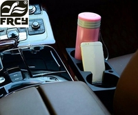 Car Stickers Car Styling Cup Cell Phone Drinks Holder For Toyota RAV4 2013 2014 Camry 2012