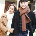 Selling The Big European Version of Coarse Wool Scarf Knitted Winter Ms.man Thickened Warm Winter Scarf Students Solid Couple