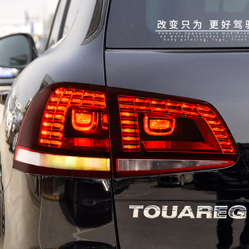 Car Styling Case For Volkswagen For Touareg Taillights 2011 2012 2013 2014 2015 2016 2017 LED