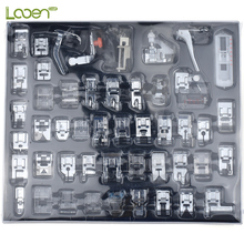 48 Pcs/set Domestic Sewing Machine Presser Foot Feet Kit Set With Box Sewing Machine Accessories For Women DIY Craft Tools цена и фото