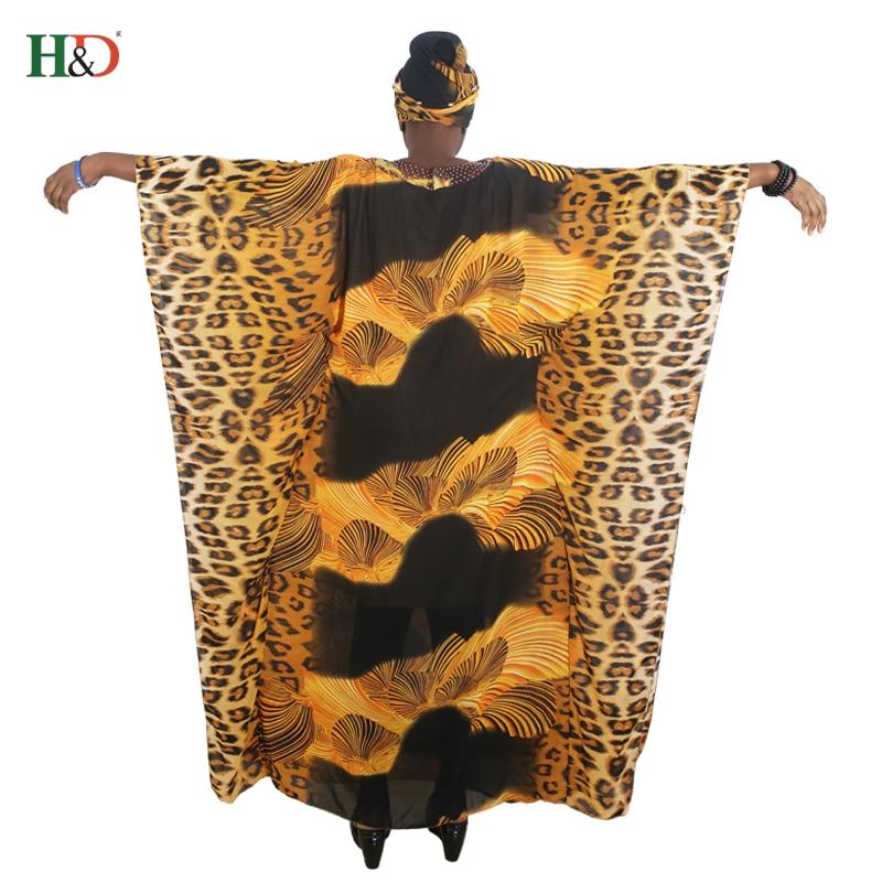 afrikanska kvinnor lång mantel leopard tryckt lös maxi klänningar - Nationella kläder - Foto 6