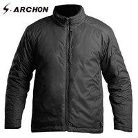 Зимние Термальность полит куртка бомбер Куртки Для мужчин отражения тепла ветрозащитный Водонепроницаемый Военная Униформа Куртки Тактич