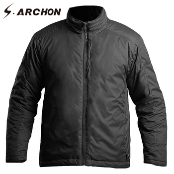 Winter Thermal Polit Bomber Jackets Men Heat Reflection Windproof Waterproof Military Jackets Tactical Flight Army Coat