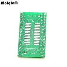 500 pcs tssop28 ssop28 sop28 smd to dip28 ic 어댑터 컨버터 소켓 보드 모듈 어댑터 플레이트 0.65mm 1.27mm 통합