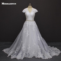 Sexy China Lace Backless Wedding Dresses 2016 Ball Gown Country Western Wedding Gowns Bride Bridal Dress