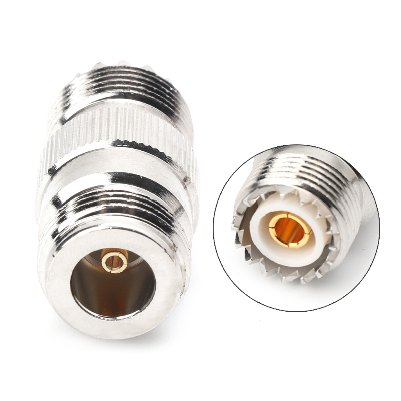 RF Coaxial Adapter UHF Female To N Female PL259 SO239 UHFTo N Jack Connector
