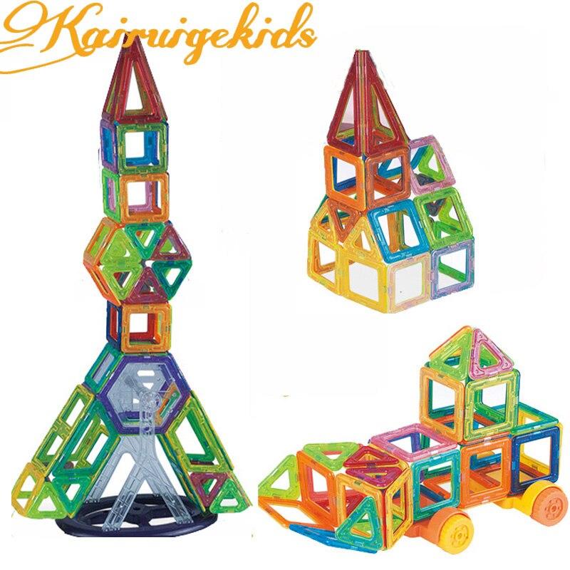 Construction Toys Sets : Pcs mini magnetic construction building blocks set model