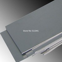 2pcs Titanium alloy metal plate grade5 gr.5 Gr5 Titanium sheet 10mm thickness