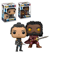 Funko POP Marvel Thor: Ragnarok 3 Valkyrie Heimdall figurine PVC action figure collection model toy birthday gifts 10CM with box