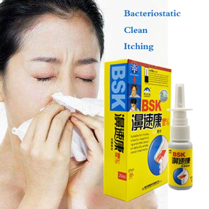 1PC Powerful Rhinitis Spray Sinusitis Nasal Congestion Itchy Allergic Nose Medicine Chinese Nosal Sp