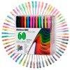 Children ABC Smart 48 Gel Pens Set Color Gel Pens Glitter Metallic Pens Good Gift For