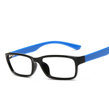 [Marte&Joven] Classic Anti-Radiation Eyeglasses Frame For Reading Women Men Anti-Fatigue Optical Black Glasses Frame Myopia Care
