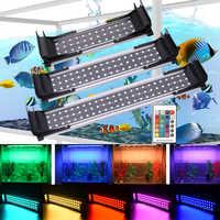 США, Великобритания, ЕС, Австралия, Красочный светодиодный светильник, расширяемый светильник для аквариума, светильник светодиодный для а...