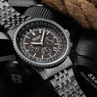 MEGIR Quartz Watch Men Military Sport Chronograph Luminous Clock Mens Watches Top Brand Luxury Wristwatch Relogio
