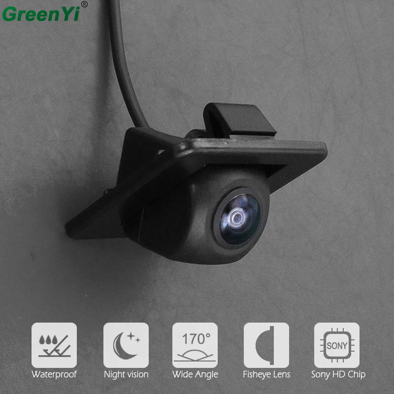 170 Degree Sony MCCD Fisheye Lens Starlight Night Vision Trunk Handle Camera Rear View Camera For Kia K3 K3S Cerato Forte 2014