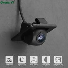 170 Gradi Sony MCCD Fisheye Lens Starlight Night Vision Trunk Maniglia Della Macchina Fotografica Videocamera vista posteriore Per Kia K3 K3S Cerato forte 2014