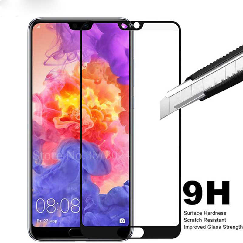 3D Full Cover Glass Film on For Huawei P20 Lite P30 Pro P10 Plus Tempered Glass Screen Protectors For Huawei P20 Lite Honor 10