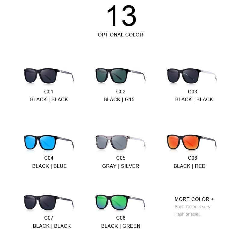 MERRYS Unisex Retro Aluminium Sonnenbrille Polarisierte Linse Vintage - Bekleidungszubehör - Foto 5