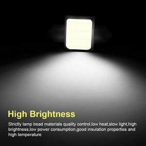 Image 3 - Safego 10pcs C5W LED COB Festoon 31mm 36mm 39mm 42/41mm Bulbs for Car License Plate Light Interior Reading Lamp DC 12V White