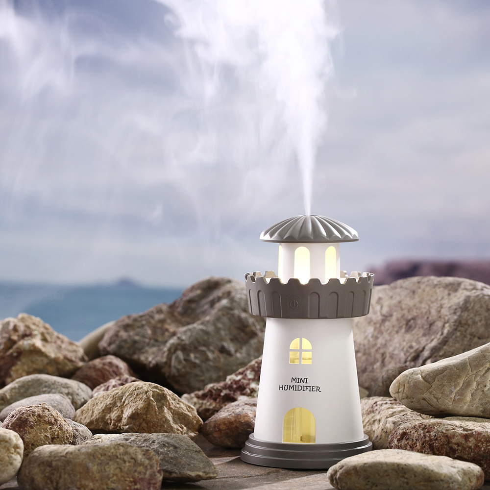 small resolution of 150ml lamp lighthouse humidifier usb led air diffuser purifier atomizer tower essential oil diffuser for home difusor de aroma in humidifiers from home