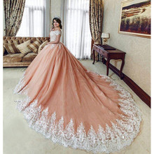 kejiadian Middle East Puffy Wedding dresses Gowns