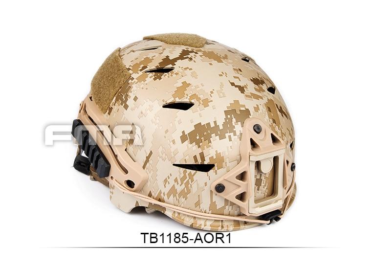 New AOR1 desert digital series  helmet TB1185-AOR fast ballistic helmet rapid response tactical helmet mc fg at tan aor1 digital desert bk woodland atfg acu