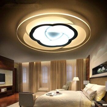 Oturma Çalışma Odası Tavan ışıkları iç mekan aydınlatması led luminaria abajur modern led tavan ışıkları oturma odası lambaları ev için