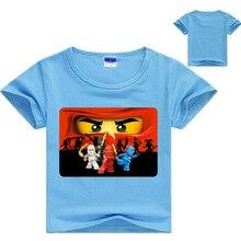 Legoes T-shirt Baby Ninjago Boy Tshirt Summer 2019 Boys T Shirt  Short Sleeves Children Clothes Toddler Shirts 3-16Y
