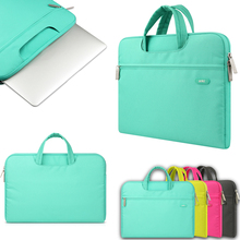 цена на Laptop Briefcase Liner Sleeve 11 12 13 14 15 Case For Macbook AIR PRO Retina Xiaomi Air Computer Notebook Bag