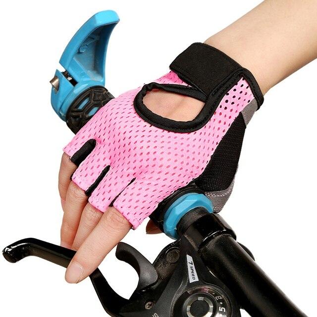 Mùa hè Găng tay xe đạp Gel đường Găng tay xe đạp nam Nữ Xe Đạp Mỏng Thoáng Khí Găng Tay Nửa Ngón MTB guantes ciclismo