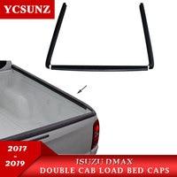 Rail Guard For ISUZU DMAX 2017 2019 Over Rail Load Bed Liner For ISUZU DMAX 2017 2018 2019 textured black Car Accessories YCSUNZ