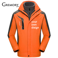 2019 Your OWN Design Brand Logo/Picture White Custom Men and women outdoor jackets Plus Size Jacket Men Clothing HM1818 SA 8