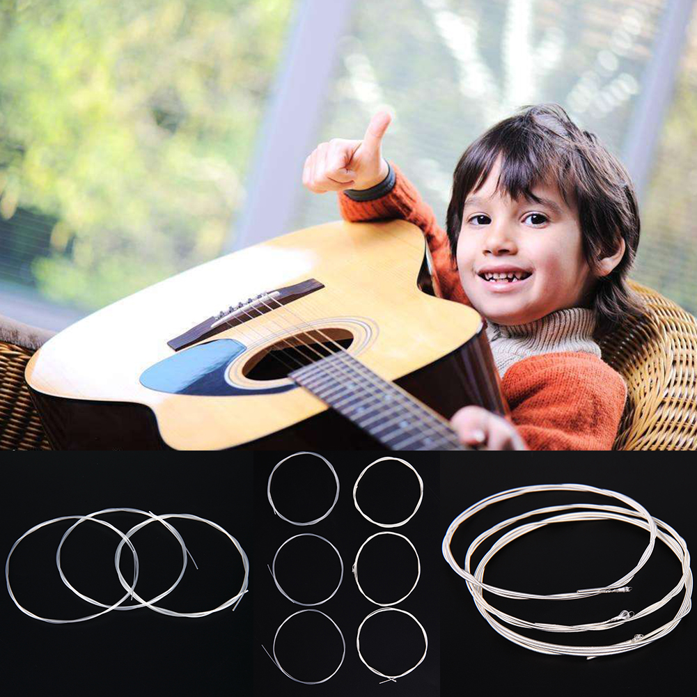 6pcs Classical Guitar Strings Nylon Nano Coating Replacement Wire Acoustic Guitar String Guitarra Accessories