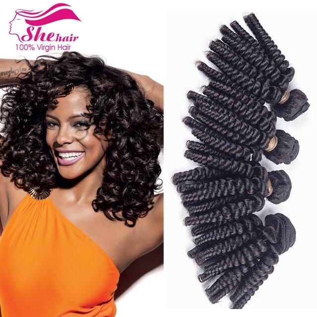 Top Quality Aunty Fummi Hair 3bundles Cheap Brazilian Curly Virgin
