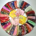 Chinese Drawstring Small Silk Brocade Fabric Jewelry Gift Pouch Pattern Ring Storage Bag Jewelry Necklace Packaging Bags 50pcs