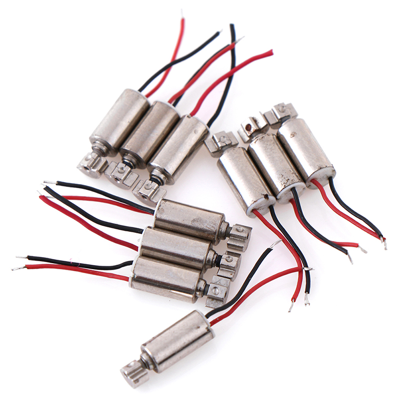 5/10 шт./лот DC микро Вибрационный Мотор для сотовых телефонов, коррозийных свойствах, вибратор 4,4x4,4 мм DC1.5-3V двигатели постоянного тока Запчаст...