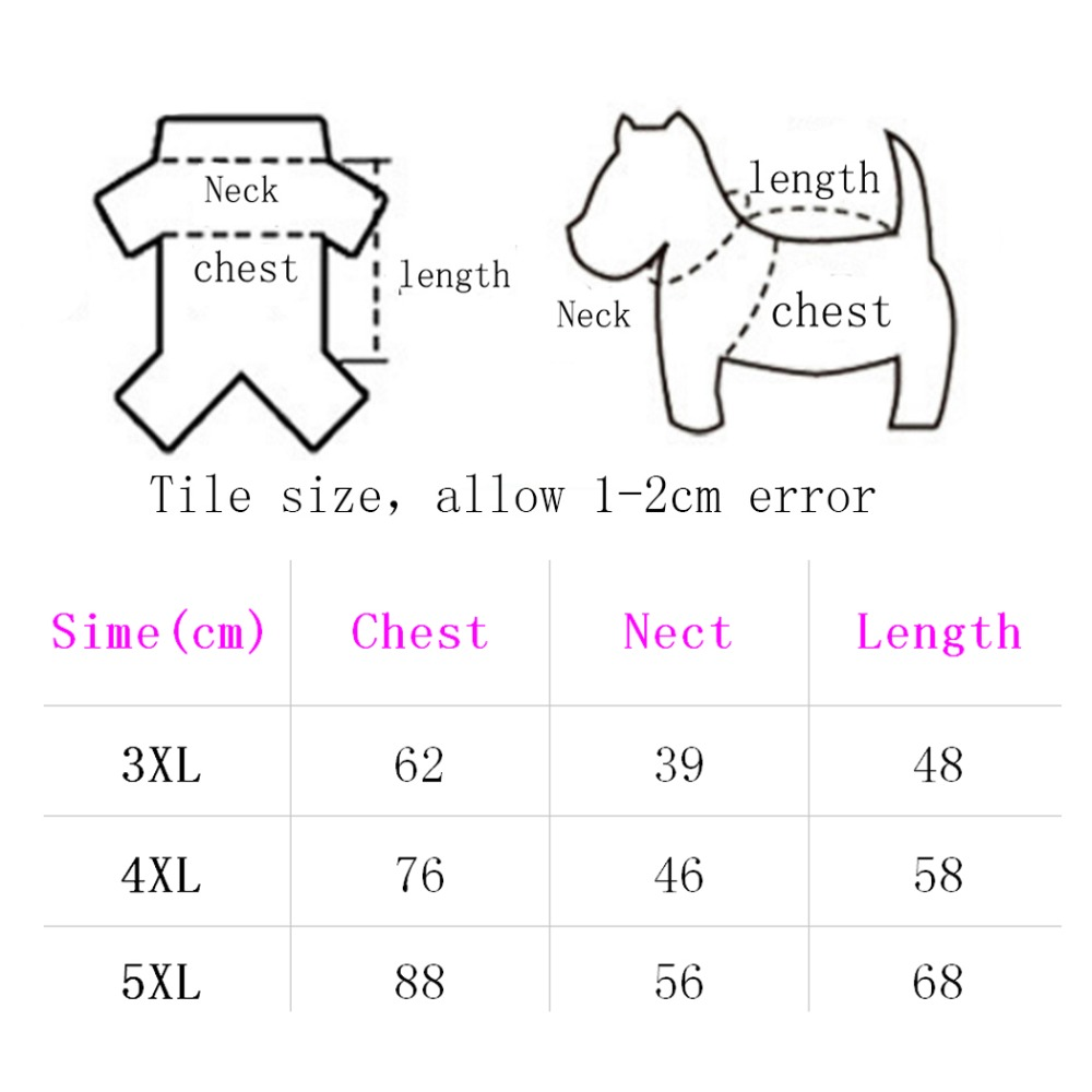 ③Grande impermeable del perro ropa grande Perros capa exterior ...