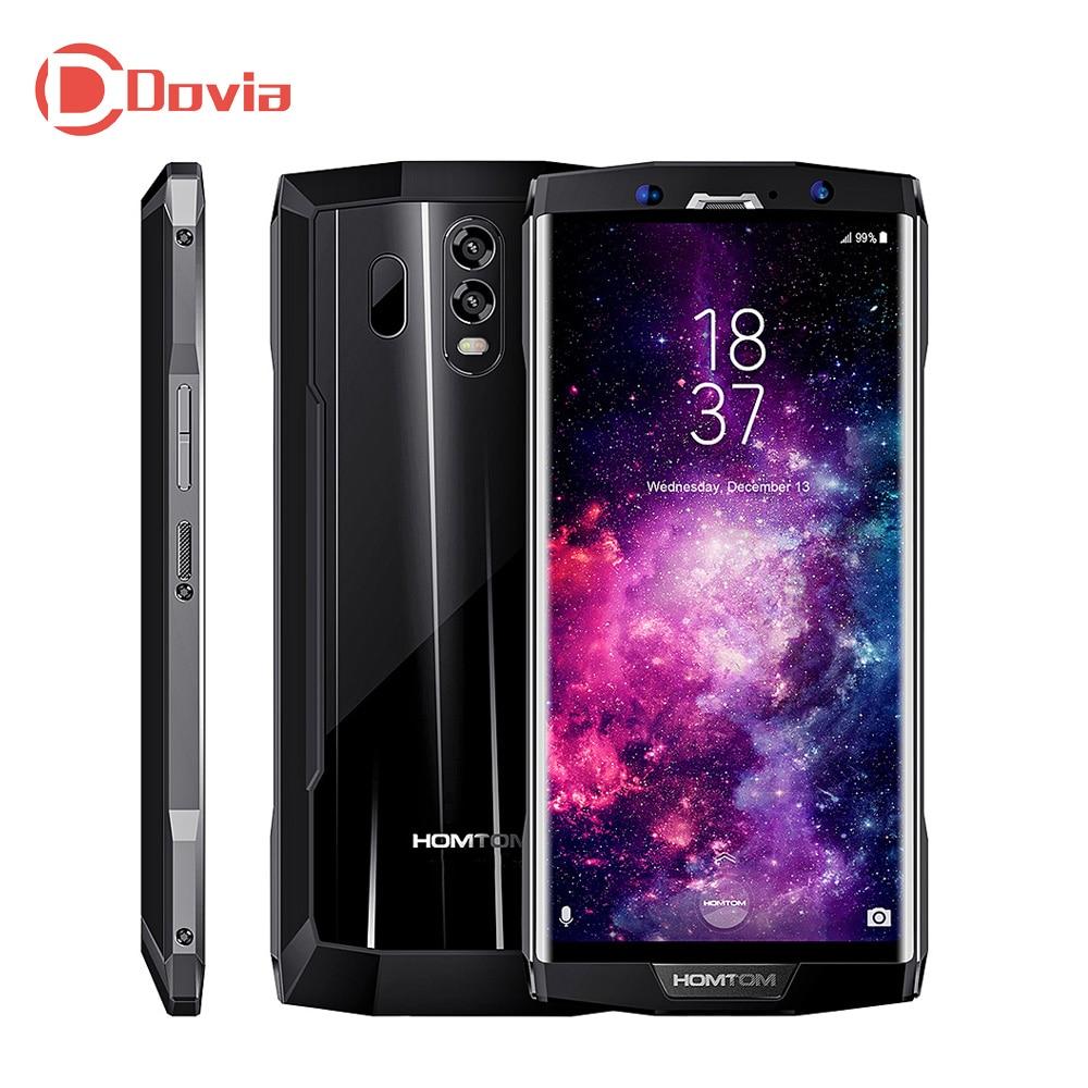 HOMTOM HT70 4g Téléphone Portable 6.0 pouce Android 7.0 MTK6750T 10000 mah Octa Core 1.5 ghz 4 gb RAM 64 gb ROM Double Caméras Arrière Portable