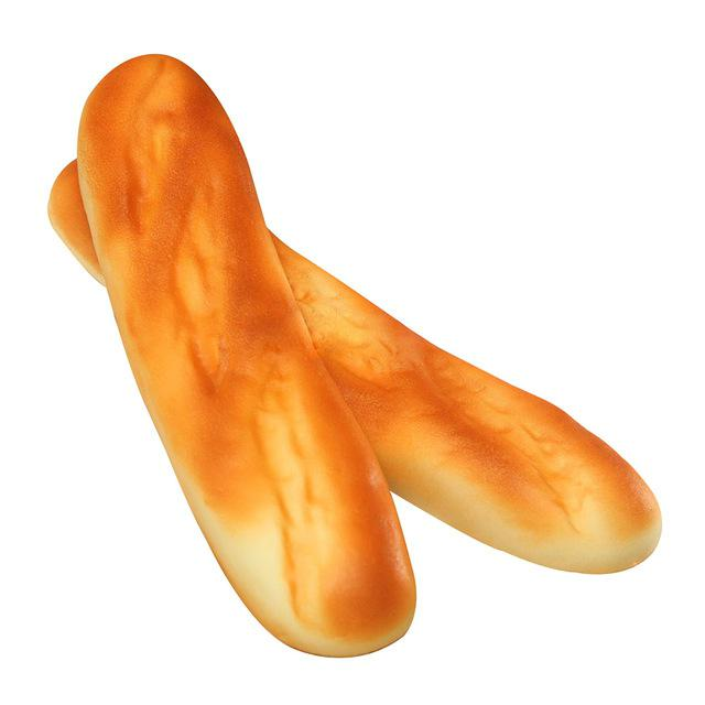 30cm Squishy Long French Baguette Soft Squishy Bread Cute Display Model Toy UK