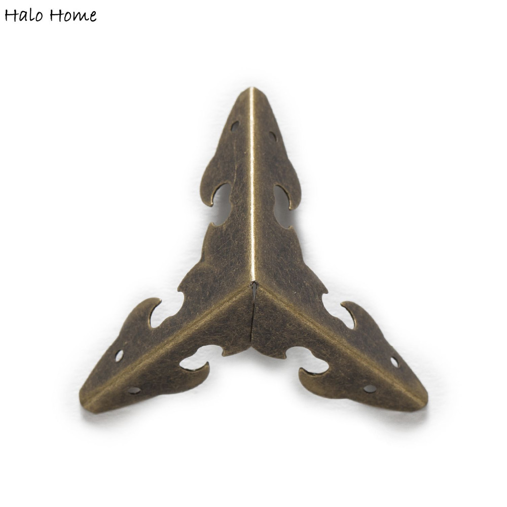 10 Piece Antique Bronze Plated Hollow Lus
