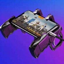 цена на Mobile game gun controller disassemble gun battle class custom settings with 6.5 inch mobile phone universal