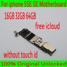 Фабрика разблокирована для iphone 5SE материнская плата без Touch ID, оригинальный для iphone SE материнская плата с полным чипом