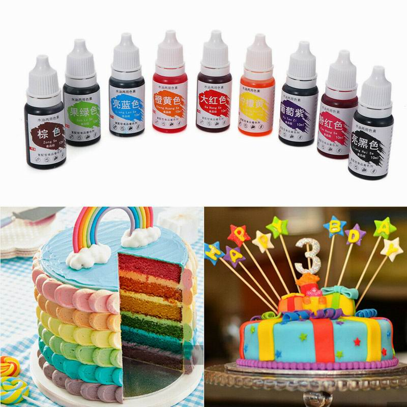 Ingredients-Cream Pigment Edible Cake Baking-Cake-Edible Fondant Food-Macaron-Coloring