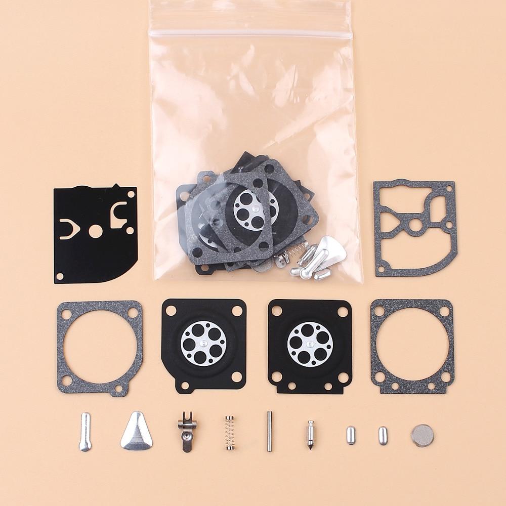 2 Carburetor Diaphragm Repair Kit For STIHL 020 020T MS191 MS192T MS200 MS200T HUSQVARNA 113LD 123C 123L 322L 323L Zama C1Q Carb