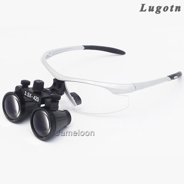 3.5X alargamento antifog óculos ópticos binocular médica lupa cirúrgica ENT  odontologia estomatologia dental oral médico 3e1b2b27b0