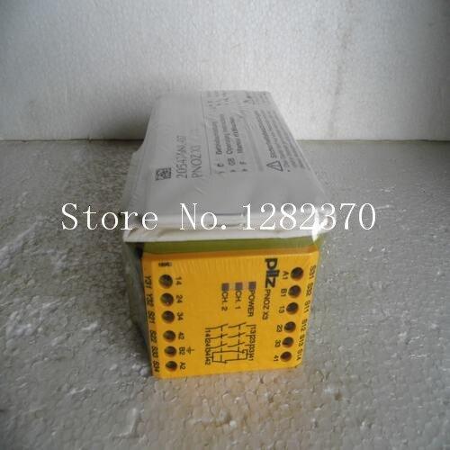 Новый Pilz Реле Безопасности pnoz X3 110VAC 24VDC 3N/o 1N/c 1so пятно