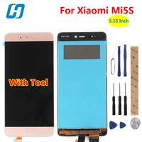 Xiaomi Mi5S LCD Display Touch Screen Test Good Digitizer Screen Panel Accesspry Replacement For Xiaomi Mi5S