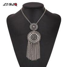 Lzhlq 2020 чокер воротник Бохо этническое массивное ожерелье