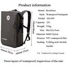 18L велосипедная сумка рюкзак с гидратационным пузырьком спортивная сумка для воды на открытом воздухе альпинистская походная велосипедная... - 2
